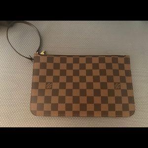 Authentic Louis Vuitton wristlet pouch